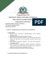 Program Kerja LPM