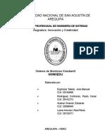 Informe Localización SISMOEDU y Aplicacioón
