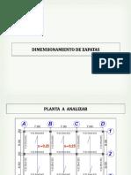 Dimensionamiento de Zapatas