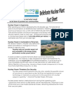 Bellefonte Nuclear Plant Fact Sheet