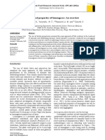 Biological Properties of Lemongrass- An Overview