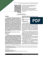 Caracterizacion Clinica de Las Enfermedades Broncopulmonares Ocupacionales - 2007