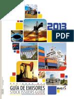Guia de Emisores Acciones BVC - Stock Issuers Guide 2013