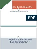 4ta SEMANA-Sourcing Estratégico 2012-Resumen
