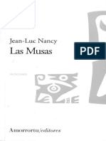 Nancy, J L - Las musas