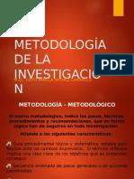 Ix. Metodologia de La Investigacion
