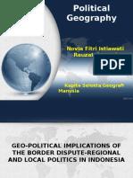 PPT Makalah Kapita Selekta Geografi