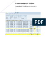 Production Process Flow With FI Documents