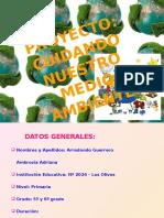 proyectocuidandonuestromedioambiente-121203233155-phpapp01