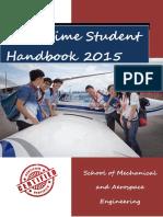 MAE UG (Part Time) Handbook 2015-16 v1.1 (Circulated)