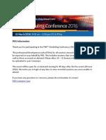 PDU Information - Scheduling