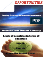 Study Abroad Consultants Global Opportunities