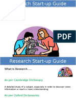 Research Start Up