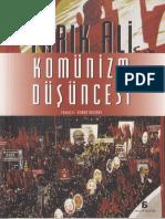 Tarık Ali.  Komünizm Düşüncesi