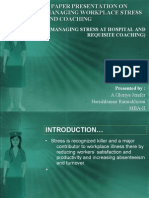 stress management in hospitals