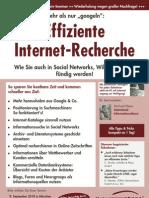 Seminar Effiziente Internet - Recherche mit Michael Klems