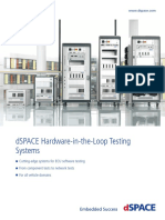 DSPACE HIL Systems Business Field Brochure 2016 03 English