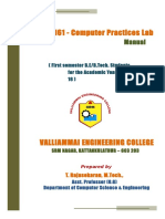 Computer Programming Lab Manual