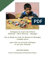 Catalogues de Jouets des Enfants Sahariens – Nord-Africains – Amazighs