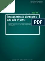 El Indice Glucémico y Su Influencia Para Bajar de Peso