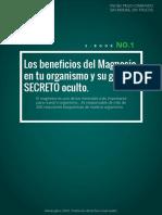 Los Beneficios Del Magnesio y Su Secreto Oculto