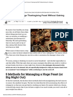 How to Have a Thanksgiving FEAST Without Gaining Fat - BuiltLean