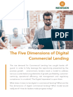 The Five Dimensions of Digital Commercial Lending - www.newgensoft.com
