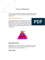Theory Of Motivation.docx