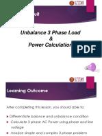 Week 12_unbalance and 3 Phase Power