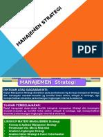 Manajemen Strategic MM 1