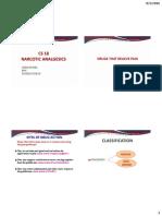 Narcotic Analgesics CS 18