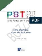 Turismo Italia, PST 2017 2022 (bozza)
