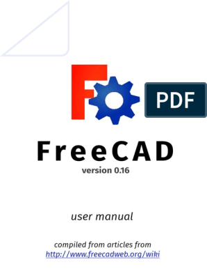FreeCAD Manual 0 16 | Cartesian Coordinate System | Computing