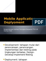 PAPB 11 Mobile Application Deployment