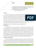 EFFECT OF LI DOPING ON THE STRUCTURAL AND SOME OPTICAL STUDIES OF CdS THIN FILMS FABRICATED BY SOL–GEL TECHNIQUE