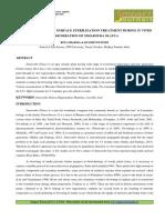 STANDARDIZATION OF SURFACE STERILIZATION TREATMENT DURING IN VITRO REGENERATION OF SIMAROUBA GLAUCA