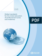 Global Standards for the Initial Education of Professional Nurses and Midwives