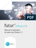 Manuel Utilisation Zimbra Webmail
