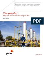 India Gas Sector Survey 2016
