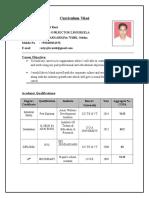Resume for safety officer