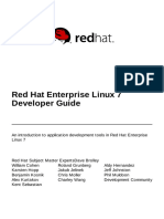 Red Hat Enterprise Linux 7 Developer Guide en US
