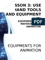 Equipment for Animation