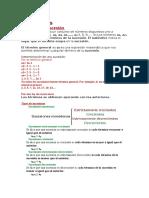 clasificación SUCESIONES