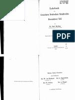 Binding Lehrbuch BT 1902
