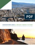Vancouver 2020 - A Bright Green Future