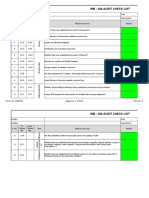 IMS IQA Audit Check List