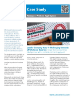 Krispy Kreme Streamlines Label Process CASE STUDY