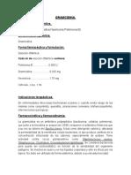 Gramcidina farmacocinetica y farmacodinámia