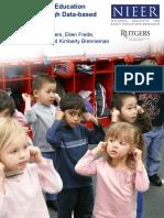 Preschool Research Design