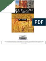 Instituições de Israel no Antigo Testamento - R. de Vaux.pdf